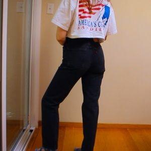 Levi's Vintage 512 Black Jeans
